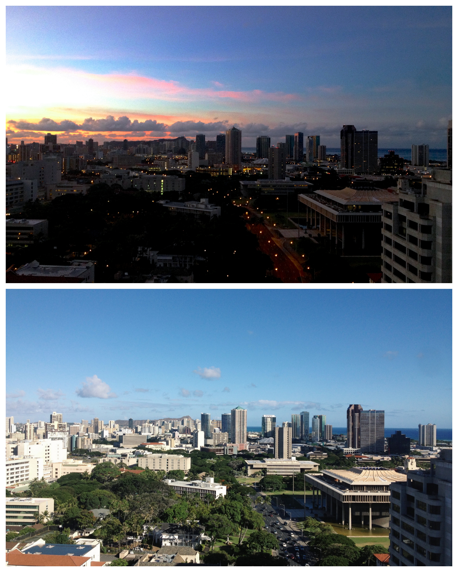 honolulu sunrise noon