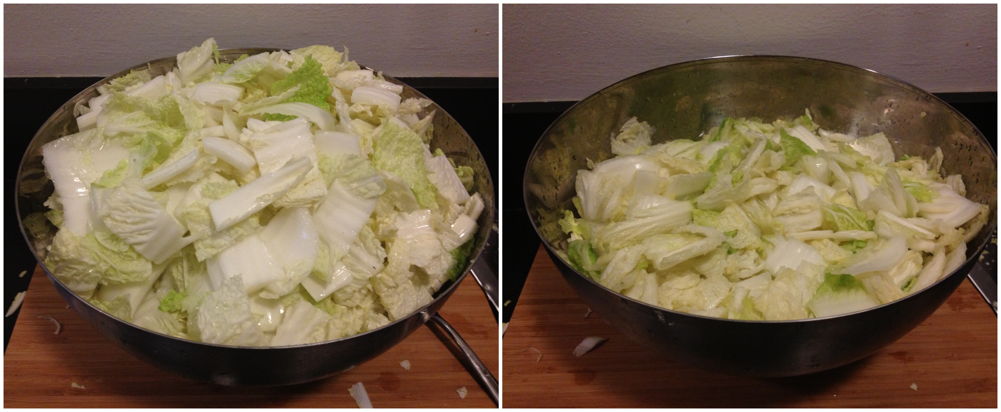cabbage salting