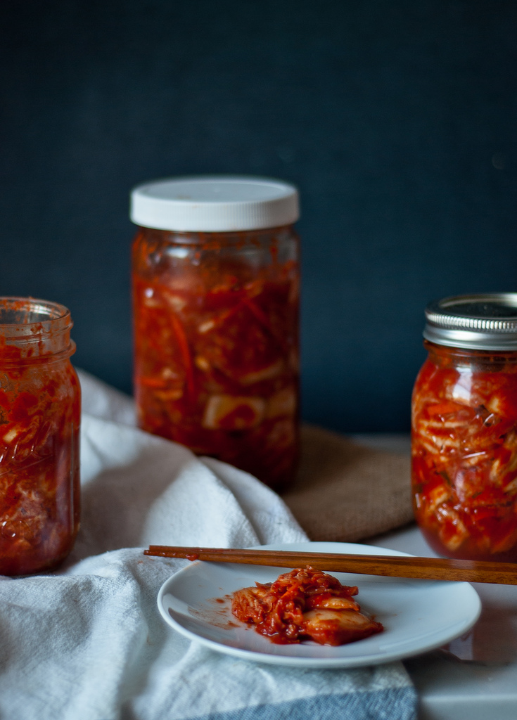 """homemade mak (""""easy"""") kimchi - Two Red Bowls"""